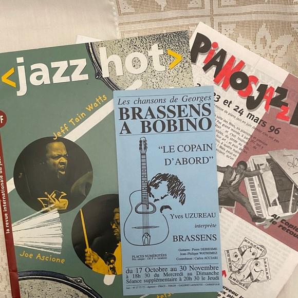 French jazz ephemera